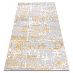 Carpet ACRYLIC DIZAYN 122 yellow / light grey
