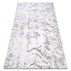 Carpet ACRYLIC DIZAYN 123 light grey / green