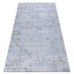 Carpet ACRYLIC DIZAYN 8840 light blue