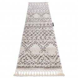 Carpet, Runner BERBER RABAT cream - for the kitchen, corridor & hallway