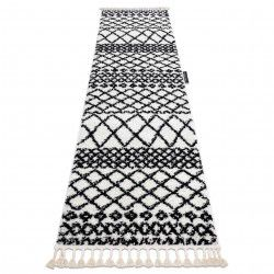 Carpet, Runner BERBER SAFI white - for the kitchen, corridor & hallway