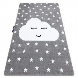 Carpet PETIT CLOUD STARS grey