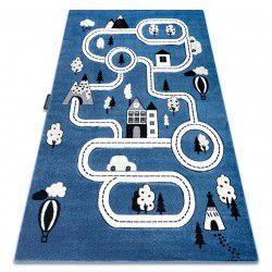 Carpet PETIT TOWN STREETS blue