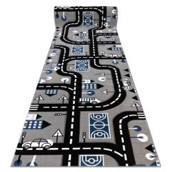Carpet wall-to-wall PETIT CITY STREETS grey
