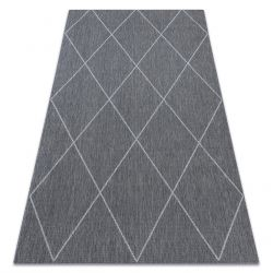Carpet SISAL DENVER 30716091 Trellis grey