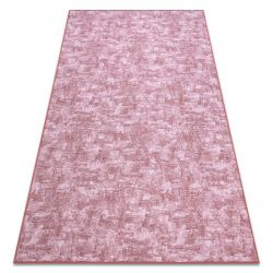 Carpet wall-to-wall SOLID blush pink 60 CONCRETE