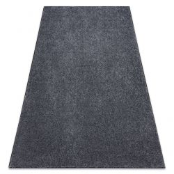 Carpet wall-to-wall SAN MIGUEL grey 97 plain, flat, one colour