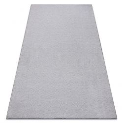 Carpet wall-to-wall VELVET MICRO grey 90 plain, flat, one colour