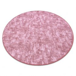 Carpet, round SOLID blush pink 60 CONCRETE