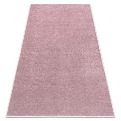Carpet wall-to-wall SANTA FE blush pink 60 plain, flat, one colour