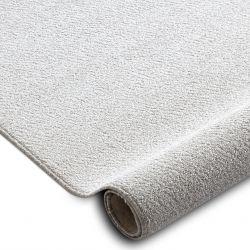 Fitted carpet SANTA FE cream 031 plain, flat, one colour
