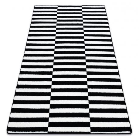 Carpet SKETCH - F132 white/black - strips