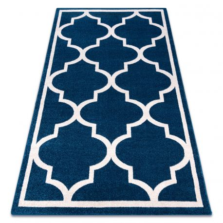 Carpet SKETCH - F730 blue/white trellis