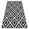 Carpet SKETCH - F998 white/black - Squares