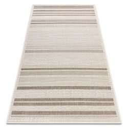 CARPET SIZAL FLOORLUX 20201 Lines champagne / taupe