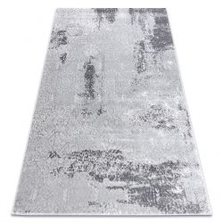 Modern MEFE carpet 8731 Vintage - structural two levels of fleece grey