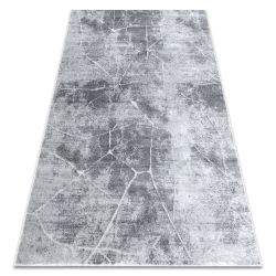 Modern carpet MEFE 2783 Marble - structural two levels of fleece grey