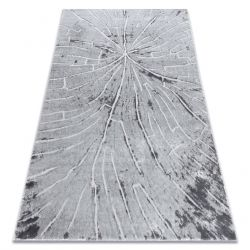 Modern carpet MEFE 2784 Tree wood - structural two levels of fleece grey