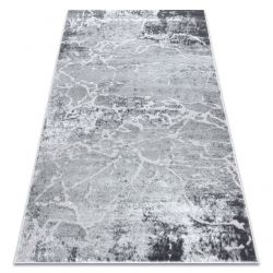 Modern MEFE carpet 6182 Concrete - structural two levels of fleece grey