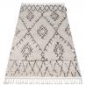 Carpet BERBER FEZ G0535 cream / brown Fringe Berber Moroccan shaggy