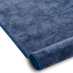 Fitted carpet SERENADE 578 blue