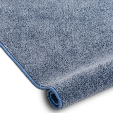 Fitted carpet SERENADE 506 bright blue
