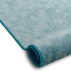 Fitted carpet SERENADE turquoise 586