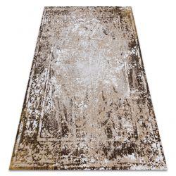 Carpet ACRYLIC VALS 0W9992 H02 43 Frame vintage ivory / yellow