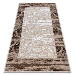 Carpet ACRYLIC VALS 0W9994 C56 45 Ornament frame vintage ivory / beige