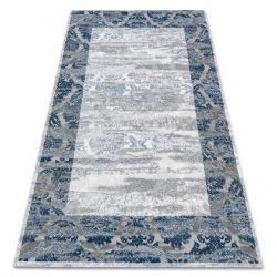 Carpet ACRYLIC VALS 0W9994 C53 54 Ornament frame vintage blue / ivory