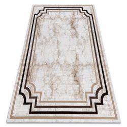 Carpet ACRYLIC VALS 0W9999 C56 45 Marble greek ivory / beige