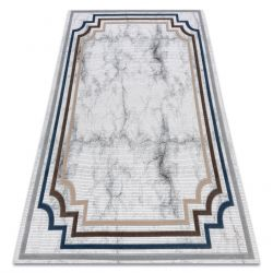 Carpet ACRYLIC VALS 0W9999 C69 41 Marble greek ivory / blue