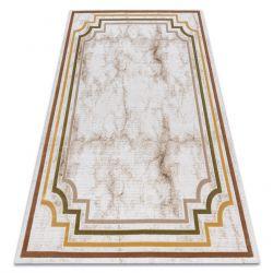 Carpet ACRYLIC VALS 0W9999 H02 47 Marble greek ivory / green