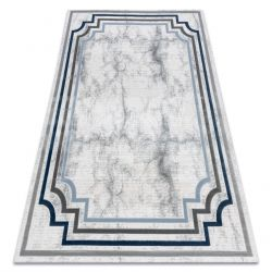 Carpet ACRYLIC VALS 0W9999 C53 47 Marble greek ivory / grey