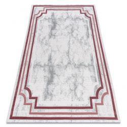 Carpet ACRYLIC VALS 0W9999 H03 47 Marble greek ivory / pink