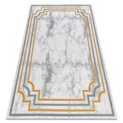 Carpet ACRYLIC VALS 0W9999 H03 48 Marble greek ivory / yellow