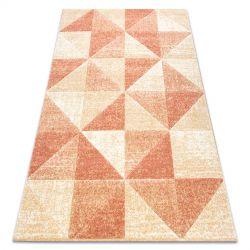 Carpet FEEL 5672/17911 Triangles beige/terracotta