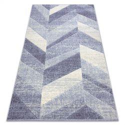 Carpet FEEL 5673/17944 Herringbone beige/violet