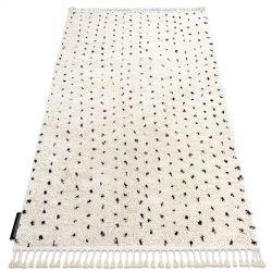 Carpet BERBER SYLA B752 dots cream Fringe Berber Moroccan shaggy