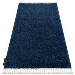 Carpet BERBER 9000 navy Fringe Berber Moroccan shaggy