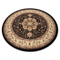 Carpet ROYAL ADR circle design 521 black