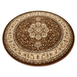 Carpet ROYAL ADR circle design 521 brown