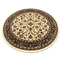 Carpet ROYAL ADR circle design 1745 caramel