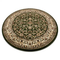 Carpet ROYAL ADR circle design 1745 green