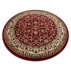 Carpet ROYAL ADR circle design 1745 claret