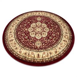 Carpet ROYAL ADR circle design 521 claret