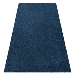 Modern washing carpet ILDO 71181090 dark blue