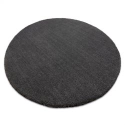 Modern washing carpet LATIO 71351100 circle grey