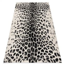 Carpet GNAB 60638363 Leopard-print modern white / grey / black