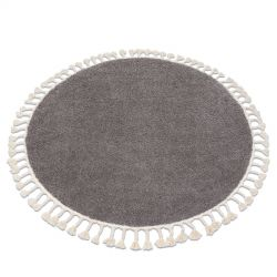 Carpet BERBER 9000 circle brown Fringe Berber Moroccan shaggy